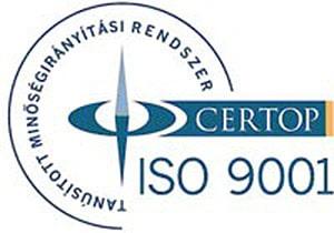 ISO 9001 tanúsítvány