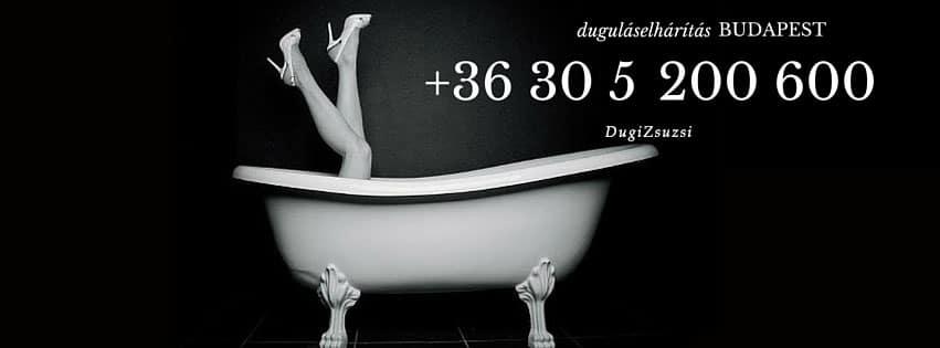 Lefolyótisztítás Budapest - Facebook/DugiZsuzsi
